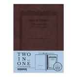 アピカ ノートカバー CDノートブックウェア セミB5 CDV250−BR ブラウン