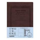 アピカ ノートカバー CDノートブックウェア A6 CDV170−BR ブラウン