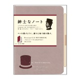 アピカ _プレミアムCDノート ハードカバー B7 方眼罫 CDS181S レッド