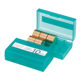オープン コインケース100枚用 10円 M−10W│会計用品・レジ用品