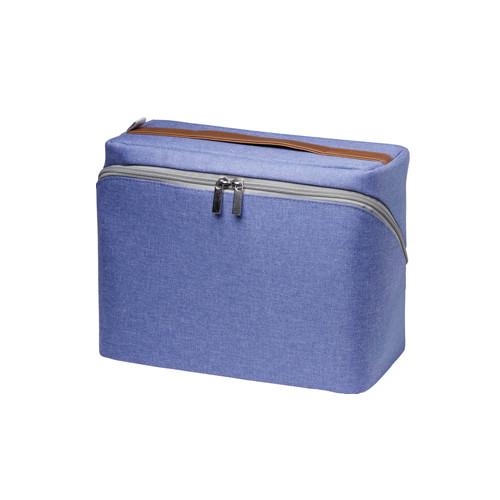 ソニック ぐるっと開く勉強バッグ ブルー LV−2130−B│デスク周り用品