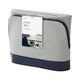 ソニック ユートリム スマ・スタキャンバス地 タブレット 立つバッグインバッグ UT‐4042‐GL グレー│インナーバッグ
