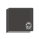 エンスカイ ツインテッドワンダーランド アルカナカード収納ファイル シルバー│雑貨 キャラクターグッズ