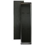 お箸用ギフト箱 黒貼紙箱 2膳用│ラッピング用品 ギフトボックス(完成品)