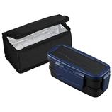 オーエスケー ロックフォー 2段ランチボックス 保冷バッグ付 BLW−30HF