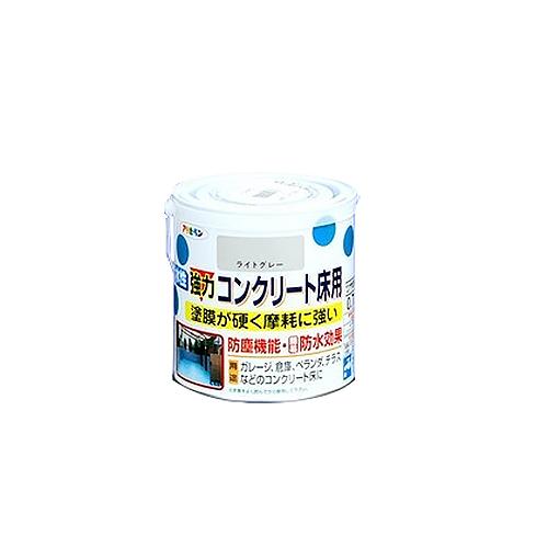 アサヒペン 強力コンクリート床用 ライトグレー 0.7L