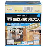 アサヒペン 水性 高耐久2液ウレタンニス クリヤ│水性塗料 多用途水性塗料