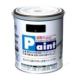 アサヒペン 水性ペイント 1.6L 黒