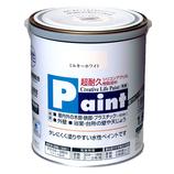 アサヒペン 水性ペイント 1.6L ミルキーホワイト