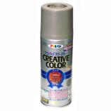 アサヒペン クリエイティブカラースプレー 300ml アースブラウン│スプレー塗料 多用途スプレー