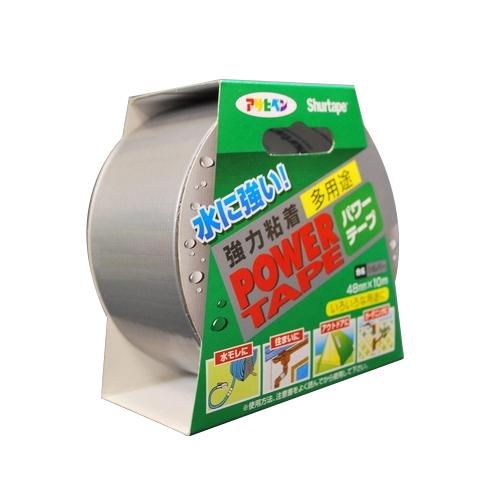 アサヒペン パワーテープ 4.8cm×25m巻 シルバー