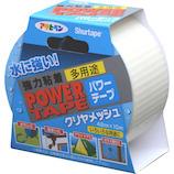アサヒペン 強力粘着 多用途 パワーテープ クリヤメッシュ│ガムテープ・粘着テープ その他 粘着テープ