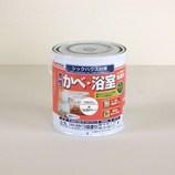 アトム 無臭かべ・浴室用塗料 白(公団カラ-) 0.7L│水性塗料 多用途水性塗料