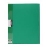 キングジム 葉書ホルダー 差し替え式 ハイブリッドタイプ A4タテ 62HB 緑│ファイル はがきファイル