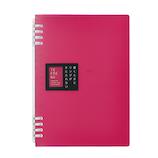 キングジム リングノート テフレーヌ A5 9854TTE ピンク