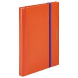 キングジム 二つ折りクリアーファイル コンパック 5894H オレンジ×パープル