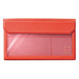 キングジム フラッティ 封筒サイズ 5362 赤