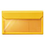 キングジム フラッティ バッグインバッグ 封筒サイズ 5362 黄