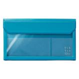 キングジム フラッティ バッグインバッグ 封筒サイズ 5362 水色