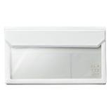 キングジム フラッティ バッグインバッグ 封筒サイズ 5362 白│インナーバッグ
