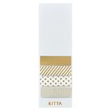 キングジム KITTA(キッタ) KITH001 ミックス 40枚入│シール マスキングテープ