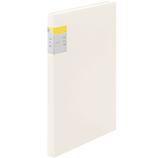 キングジム クリア−ファイル カキコ 40ポケット 8632W 白