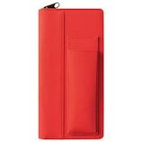 キングジム ペンケース イッツイ 2101−001 赤×赤