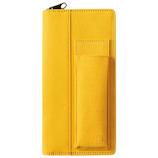 キングジム ペンケース イッツイ 2101−003 黄×黄