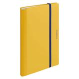 キングジム 二つ折りクリア-ファイル コンパック A4 5894M 黄色