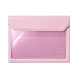 キングジム フラッティ バックインバック A6 5360 ピンク│インナーバッグ