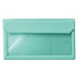 キングジム フラッティ バッグインバッグ 封筒サイズ 5362 ミントグリーン
