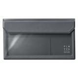 キングジム フラッティ バッグインバッグ 封筒サイズ 5362 ダ−クグレ−