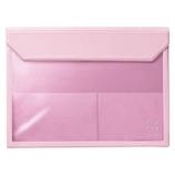 キングジム フラッティ バッグインバッグ A4 5366 ピンク