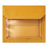 キングジム フラッティ ワークス(FLATTY WORKS) バッグインバッグ カードサイズ 5456 黄色│インナーバッグ
