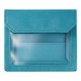 キングジム フラッティ ワークス(FLATTY WORKS) バッグインバッグ カードサイズ 5456 水色│インナーバッグ