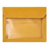 キングジム フラッティ ワークス(FLATTY WORKS) バッグインバッグ A6 5460 黄色│インナーバッグ