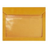 キングジム フラッティ ワークス(FLATTY WORKS) バッグインバッグ A5ヨコ 5464 黄色│インナーバッグ