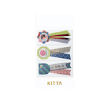 キングジム KITTA(キッタ) リミテッド KITL008 ロゼット│シール マスキングテープ