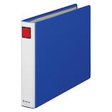 キングジム キングファイル スーパードッチ A4 ヨコ型 1483 青│ファイル パイプファイル