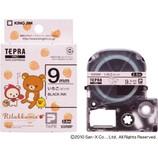 キングジム テプラテープ リラックマ 9mm ピンク/黒字 SGR9BP