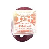 中西 エスコード 麻手ぬい糸 中細 20/3 30m エンジ