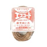 中西 エスコード 麻手ぬい糸 中細 20/3 30m ベージュ