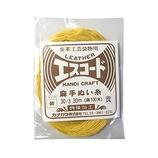 中西 エスコード 麻手ぬい糸 細 30/3 30m 黄
