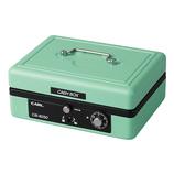 カール事務器(CARL) キャッシュボックス CB-8250-U ライトグリーン│金庫