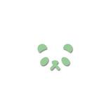 カール クラフトパンチ ミニ パンダ CN12102│アルバム・フォトフレーム アルバムデコレーション