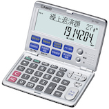 カシオ(CASIO) 金融電卓 折りたたみ手帳タイプ BF-750-N│オフィス用品 電卓
