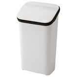 リス スムースプッシュダストボックス 20 ホワイト│ゴミ箱 キッチン用ゴミ箱