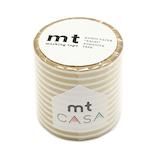 mt CASA 50mm MTCA5111 ボーダー 金│シール マスキングテープ