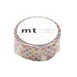 カモ井 マスキングテープ mt fabパールテープ MTPL1P02 キラキラサークル
