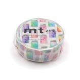 カモ井 マスキングテープ mt ex MTEX1P197 カラフルジャー│シール マスキングテープ